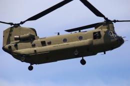 ちゅういちさんが、赤坂プレスセンターで撮影したアメリカ陸軍 CH-47Fの航空フォト(飛行機 写真・画像)