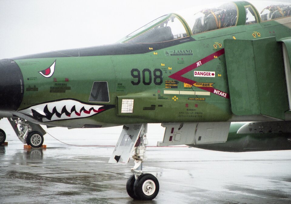 F-4さんの航空自衛隊 McDonnell Douglas RF-4E Phantom II (57-6908) 航空フォト