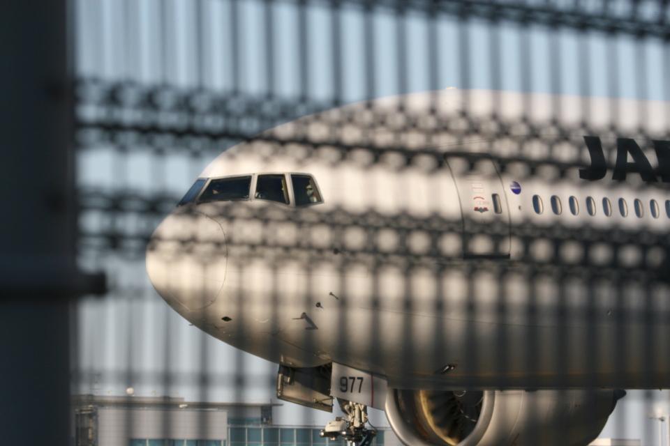 aki@ヒコーキ大好き少年さんの日本航空 Boeing 777-200 (JA8977) 航空フォト