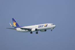 さんたまるたさんが、那覇空港で撮影したスカイマーク 737-86Nの航空フォト(飛行機 写真・画像)
