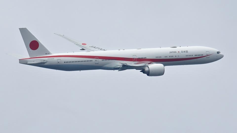 多摩川崎2Kさんの航空自衛隊 Boeing 777-300 (80-1111) 航空フォト