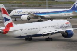 サリーちゃんのパパさんが、羽田空港で撮影したブリティッシュ・エアウェイズ 787-9の航空フォト(飛行機 写真・画像)