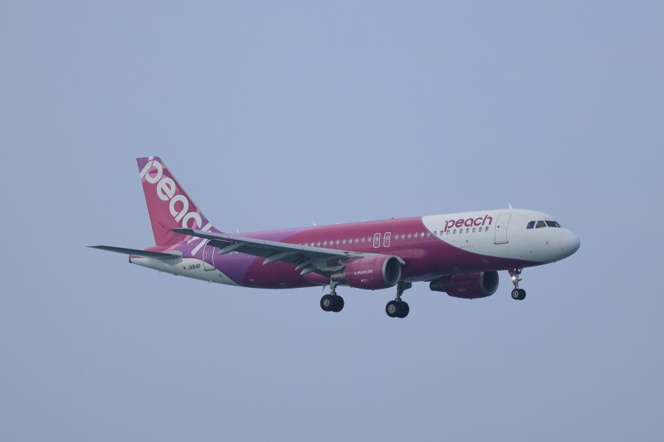 さんたまるたさんのピーチ Airbus A320 (JA814P) 航空フォト