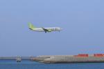 さんたまるたさんが、那覇空港で撮影したソラシド エア 737-86Nの航空フォト(飛行機 写真・画像)
