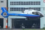 Chofu Spotter Ariaさんが、東京ヘリポートで撮影したミネベア - Minebea EC130B4の航空フォト(飛行機 写真・画像)