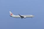 さんたまるたさんが、那覇空港で撮影した日本トランスオーシャン航空 737-8Q3の航空フォト(飛行機 写真・画像)