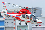 Chofu Spotter Ariaさんが、東京ヘリポートで撮影した横浜市消防航空隊 AS365N2 Dauphin 2の航空フォト(写真)