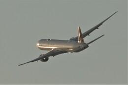 jutenLCFさんが、中部国際空港で撮影したカタール航空 777-3DZ/ERの航空フォト(飛行機 写真・画像)