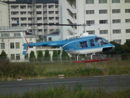 ヒコーキグモさんが、八尾空港で撮影した中日本航空 206B JetRanger IIIの航空フォト(飛行機 写真・画像)