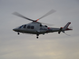 bannigsさんが、新潟空港で撮影した静岡エアコミュータ AW109SP GrandNewの航空フォト(飛行機 写真・画像)