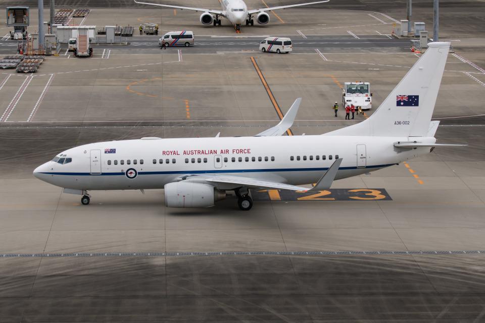 kuraykiさんのオーストラリア空軍 Boeing 737-700 (A36-002) 航空フォト