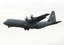 長月ぽっぷさんが、茨城空港で撮影したアメリカ空軍 C-130J-30 Herculesの航空フォト(飛行機 写真・画像)