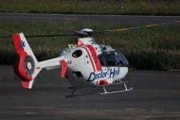 MIRAGE E.Rさんが、岡南飛行場で撮影した中日本航空 EC135P2の航空フォト(飛行機 写真・画像)