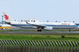 KoshiTomoさんが、成田国際空港で撮影した中国国際航空 A330-343Xの航空フォト(飛行機 写真・画像)