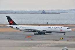 サンドバンクさんが、羽田空港で撮影したエア・カナダ A330-343Xの航空フォト(飛行機 写真・画像)