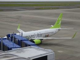 ソラシド エア Boeing 737-800 (JA803X)  航空フォト | by ukokkeiさん  撮影2020年10月18日%s