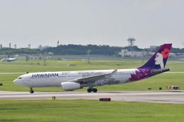 チョロ太さんが、嘉手納飛行場で撮影したハワイアン航空 A330-243の航空フォト(飛行機 写真・画像)