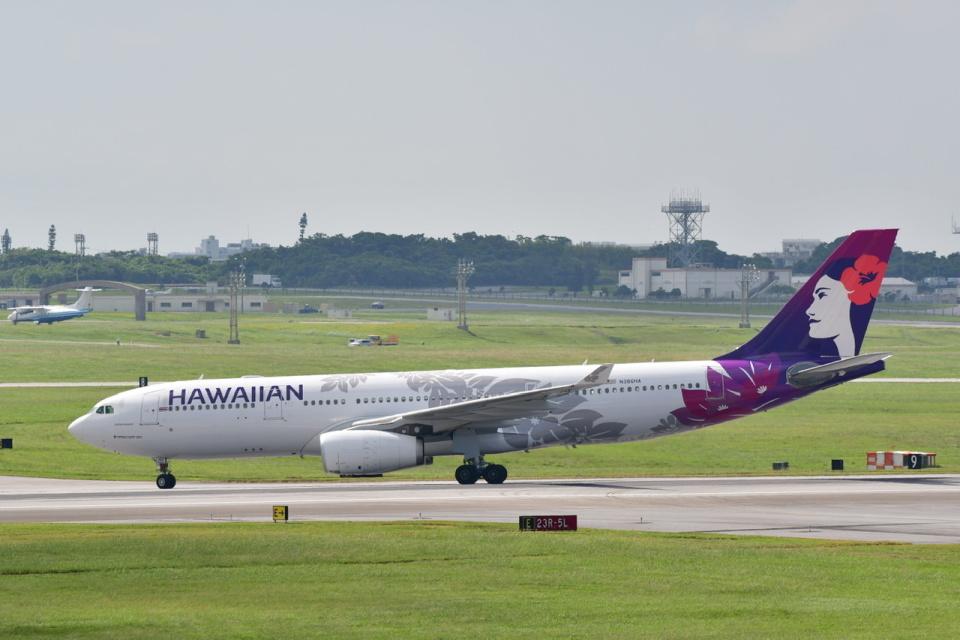 チョロ太さんのハワイアン航空 Airbus A330-200 (N386HA) 航空フォト