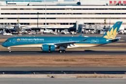 KoshiTomoさんが、羽田空港で撮影したベトナム航空 A350-941の航空フォト(飛行機 写真・画像)