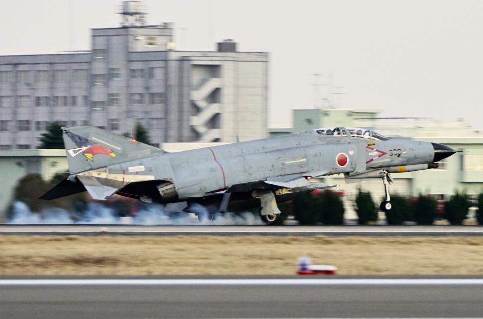 kaeru6006さんの航空自衛隊 Mitsubishi F-4EJ Kai Phantom II (77-8399) 航空フォト