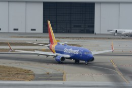 小弦さんが、ノーマン・Y・ミネタ・サンノゼ国際空港で撮影したサウスウェスト航空 737-7H4の航空フォト(飛行機 写真・画像)