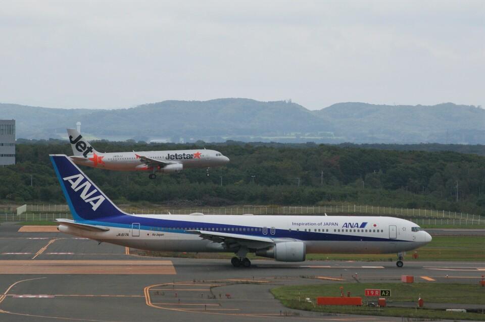 Smyth Newmanさんのエアージャパン Boeing 767-300 (JA617A) 航空フォト