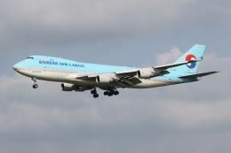 NIKEさんが、成田国際空港で撮影した大韓航空 747-4B5F/SCDの航空フォト(飛行機 写真・画像)