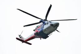 ヒロジーさんが、広島空港で撮影した広島県防災航空隊 AW139の航空フォト(飛行機 写真・画像)