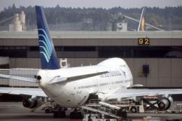 apphgさんが、成田国際空港で撮影したガルーダ・インドネシア航空 747-2U3Bの航空フォト(飛行機 写真・画像)