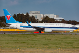 KoshiTomoさんが、成田国際空港で撮影した中国南方航空 737-86Nの航空フォト(飛行機 写真・画像)