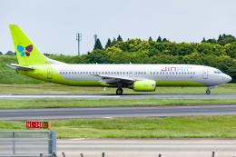 KoshiTomoさんが、成田国際空港で撮影したジンエアー 737-86Nの航空フォト(飛行機 写真・画像)