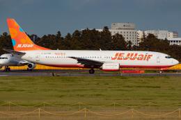 KoshiTomoさんが、成田国際空港で撮影したチェジュ航空 737-85Fの航空フォト(飛行機 写真・画像)