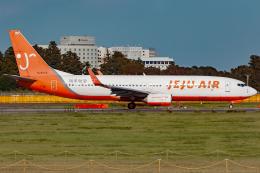 KoshiTomoさんが、成田国際空港で撮影したチェジュ航空 737-86Jの航空フォト(飛行機 写真・画像)
