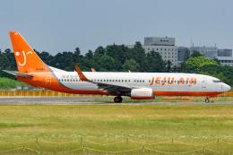 KoshiTomoさんが、成田国際空港で撮影したチェジュ航空 737-8BKの航空フォト(飛行機 写真・画像)
