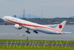 AIRFORCE ONEさんが、羽田空港で撮影した航空自衛隊 777-3SB/ERの航空フォト(飛行機 写真・画像)
