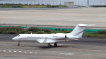 誘喜さんが、羽田空港で撮影したグローバル・ジェット・ルクセンブルク G-IV-X Gulfstream G450の航空フォト(飛行機 写真・画像)
