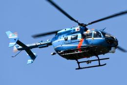 panchiさんが、成田国際空港で撮影した千葉県警察 BK117C-2の航空フォト(飛行機 写真・画像)