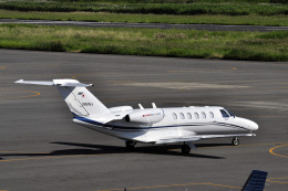 Gambardierさんが、岡南飛行場で撮影した東京センチュリー 525A Citation CJ2の航空フォト(飛行機 写真・画像)