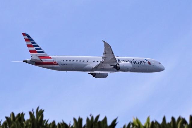 レドームさんが、羽田空港で撮影したアメリカン航空 787-9の航空フォト(飛行機 写真・画像)