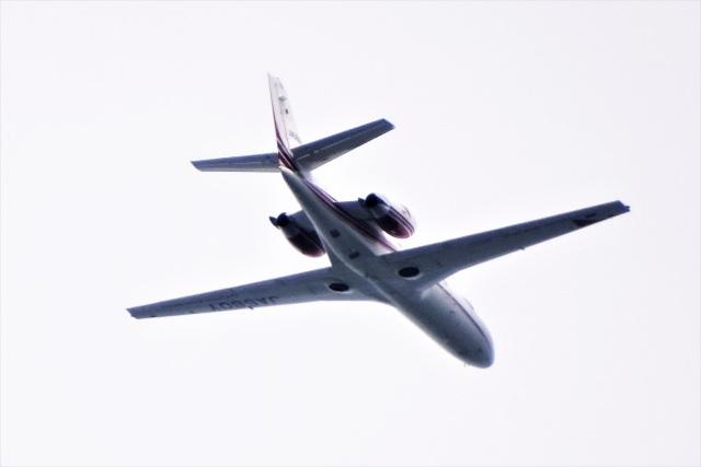 レドームさんが、羽田空港で撮影した読売新聞 560 Citation Encore+の航空フォト(飛行機 写真・画像)