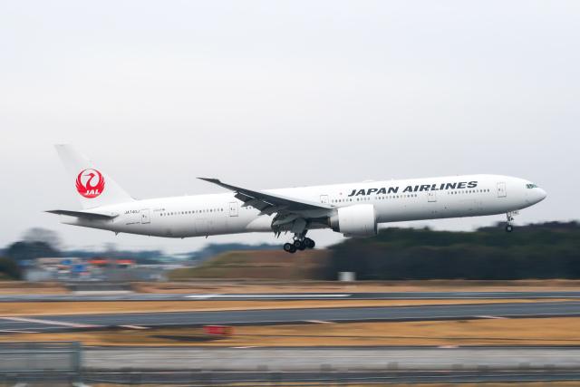 らむえあたーびんさんが、成田国際空港で撮影した日本航空 777-346/ERの航空フォト(飛行機 写真・画像)