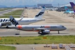 deideiさんが、関西国際空港で撮影したジェットスター・アジア A320-232の航空フォト(飛行機 写真・画像)