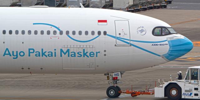 tkosadaさんが、羽田空港で撮影したガルーダ・インドネシア航空 A330-941の航空フォト(飛行機 写真・画像)