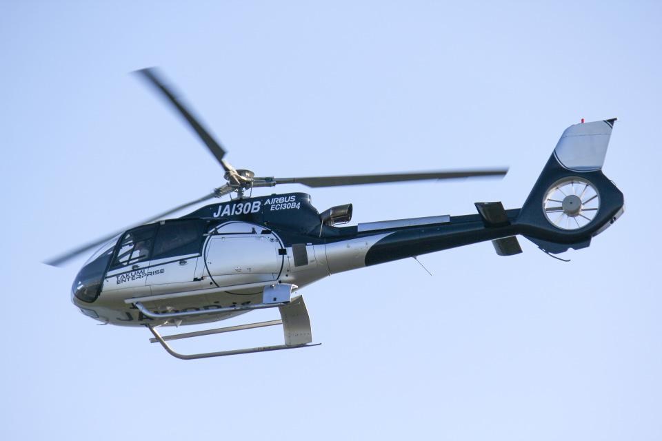 だいまる。さんの日本法人所有 Eurocopter EC130 (JA130B) 航空フォト