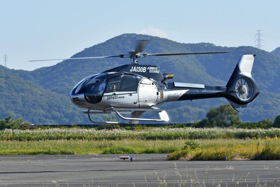 Gambardierさんの日本法人所有 Eurocopter EC130 (JA130B) 航空フォト