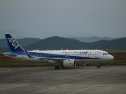 ヒコーキグモさんが、岡山空港で撮影した全日空 A320-271Nの航空フォト(飛行機 写真・画像)