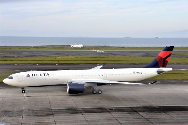 MSN/PFさんが、中部国際空港で撮影したデルタ航空 A330-941の航空フォト(飛行機 写真・画像)