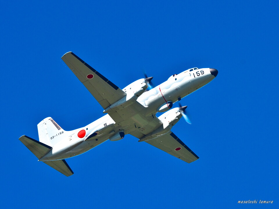 MASACHANさんの航空自衛隊 NAMC YS-11 (02-1159) 航空フォト