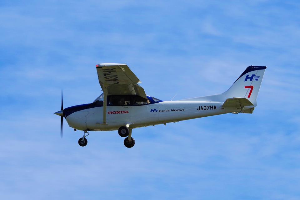 yabyanさんの本田航空 Cessna 172 (JA37HA) 航空フォト