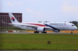 ちゅういちさんが、成田国際空港で撮影したマレーシア航空 A350-941の航空フォト(飛行機 写真・画像)